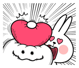"Spoiled Rabbit ""LOVE"" sticker #8483650"