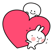 "Spoiled Rabbit ""LOVE"" sticker #8483654"