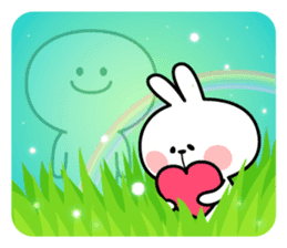 "Spoiled Rabbit ""LOVE"" sticker #8483657"