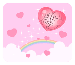 "Spoiled Rabbit ""LOVE"" sticker #8483665"
