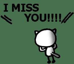 long distance relationship stickers (En) sticker #8489479