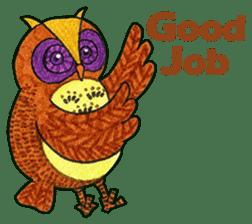 OWL Museum 9 sticker #8489941