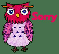 OWL Museum 9 sticker #8489951