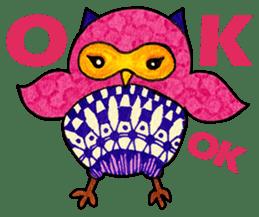 OWL Museum 9 sticker #8489962
