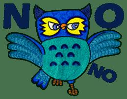 OWL Museum 9 sticker #8489963