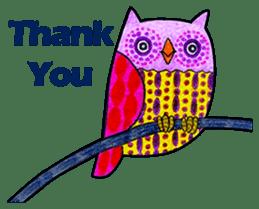 OWL Museum 9 sticker #8489965