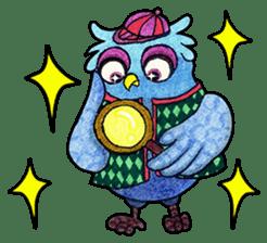 OWL Museum 9 sticker #8489968