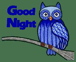 OWL Museum 9 sticker #8489972