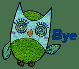 OWL Museum 9 sticker #8489976