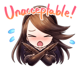 Bravely Stickers - Volume 1 sticker #8490019