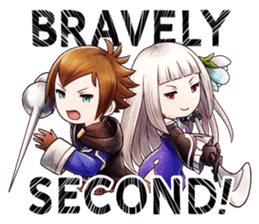 Bravely Stickers - Volume 1 sticker #8490024