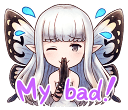 Bravely Stickers - Volume 1 sticker #8490034