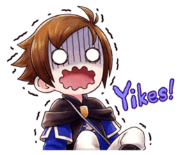 Bravely Stickers - Volume 1 sticker #8490036