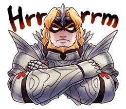 Bravely Stickers - Volume 1 sticker #8490046