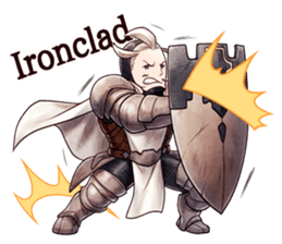 Bravely Stickers - Volume 1 sticker #8490048