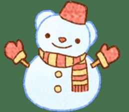 WinterFerret sticker #8493250