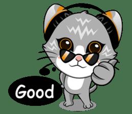 Music Cat / English Version sticker #8493738