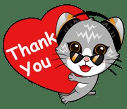 Music Cat / English Version sticker #8493742