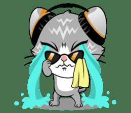 Music Cat / English Version sticker #8493744