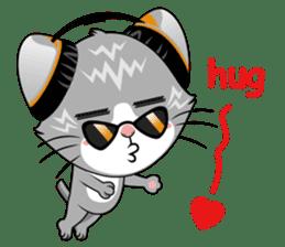 Music Cat / English Version sticker #8493746