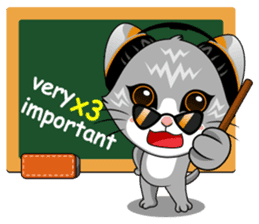 Music Cat / English Version sticker #8493747