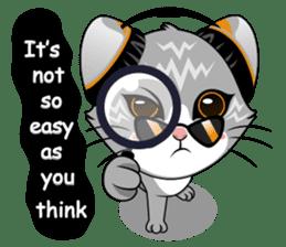 Music Cat / English Version sticker #8493748