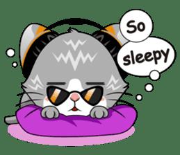 Music Cat / English Version sticker #8493751