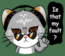 Music Cat / English Version sticker #8493755
