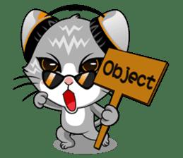 Music Cat / English Version sticker #8493756