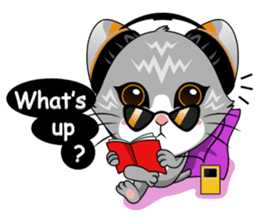 Music Cat / English Version sticker #8493759
