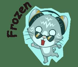 Music Cat / English Version sticker #8493760