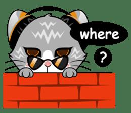 Music Cat / English Version sticker #8493762