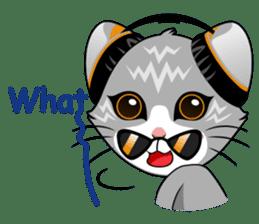 Music Cat / English Version sticker #8493764
