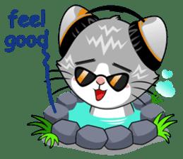 Music Cat / English Version sticker #8493766