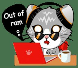 Music Cat / English Version sticker #8493767