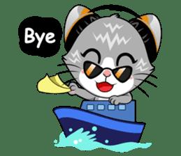 Music Cat / English Version sticker #8493768