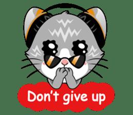 Music Cat / English Version sticker #8493769