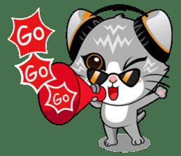 Music Cat / English Version sticker #8493772
