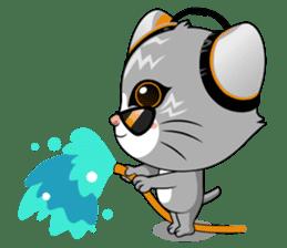 Music Cat / English Version sticker #8493773
