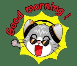 Music Cat / English Version sticker #8493776