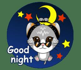 Music Cat / English Version sticker #8493777