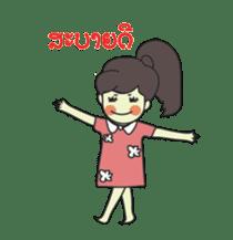 Laos Girls sticker #8502098