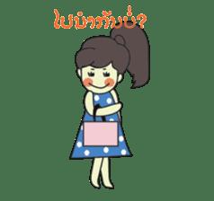 Laos Girls sticker #8502101