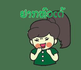 Laos Girls sticker #8502116