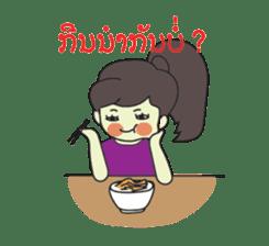 Laos Girls sticker #8502126