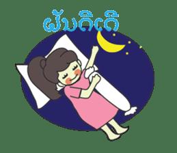 Laos Girls sticker #8502130