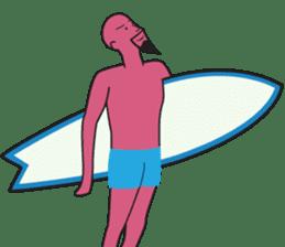 One Surfer's Day sticker #8506602