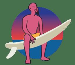 One Surfer's Day sticker #8506616