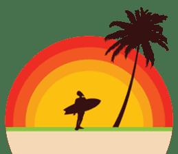 One Surfer's Day sticker #8506638