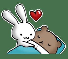 Long-distance couples part3-winter love sticker #8506650